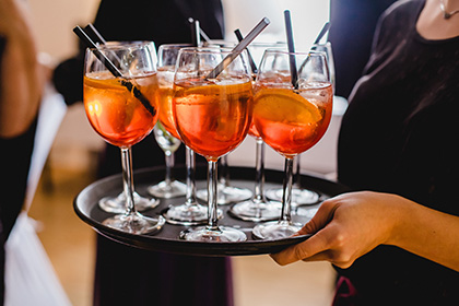 drinks and wedding catering in leicester